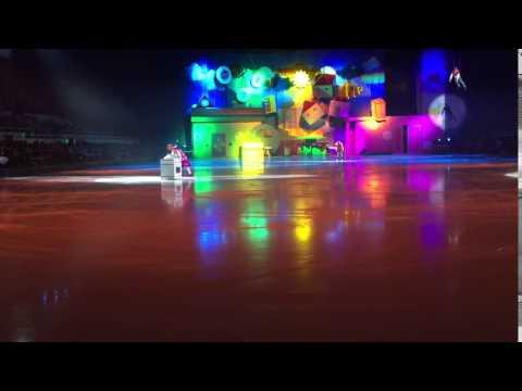 Ледовое шоу Малыш и Карлсон 10.01.2016 9
