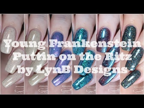 Swatches | Young Frankenstein Puttin On The Ritz Collection by LynB Designs