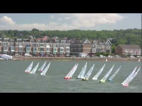 INTERNATIONAL ONE METRE WORLD CHAMPIONSHIP 2011 - A Fleet - Race 19