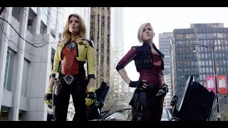 Electra Woman and Dyna Girl - IGN Live: Comic-Con 2015