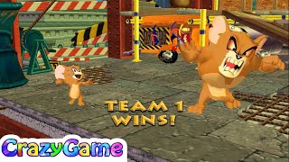 Tom and Jerry in War of the Whiskers - Monster Jerry vs Robot Tom Gameplay   CRAZYGAMINGHUB