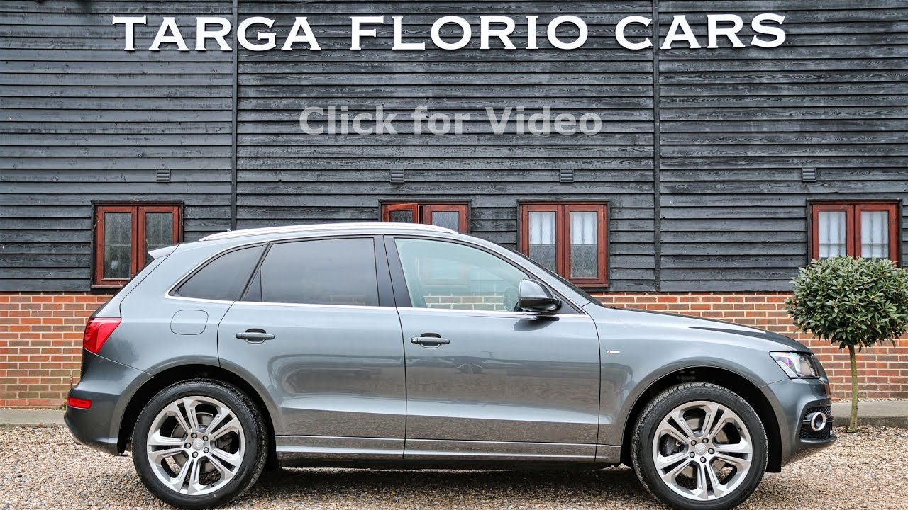 audi q5 3 0 tdi s tronic quattro s line special edition finished in daytona grey pearl youtube. Black Bedroom Furniture Sets. Home Design Ideas
