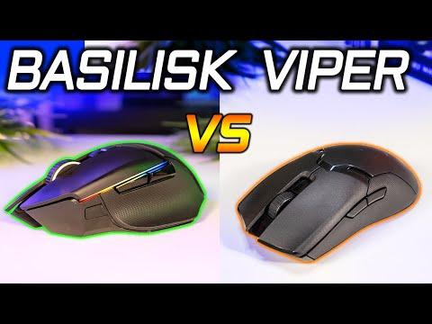 Razer Viper Ultimate vs Basilisk Ultimate Mouse Comparison: Which Should You Get?