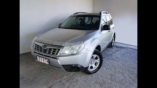 AWD Manual Subaru Forester X Wagon 2011 Review For Sale