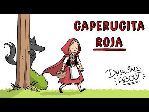CAPERUCITA ROJA LA VERDADERA Y OSCURA Hª | Draw My Life Cuentos infantiles