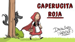 CAPERUCITA ROJA LA VERDADERA Y OSCURA Hª | Draw My Life Cue...