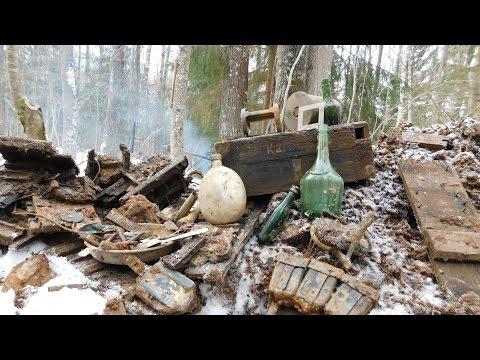 Коп по войне - Война в болотах. Блиндаж артиллеристов / Searching with Metal Detector