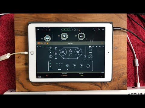 K7D - Tape Delay AUv3 - From the Developers of the DRC Poly Synth - iPad Demo
