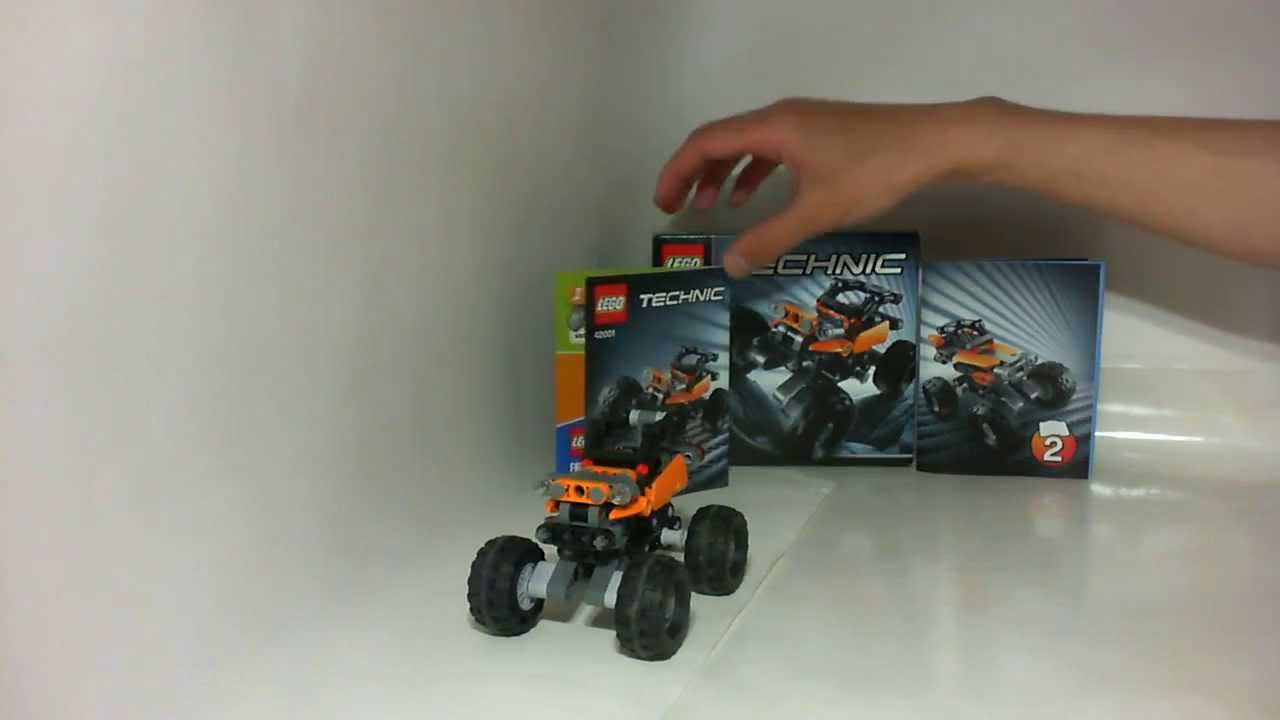 vid o review lego technic le mini tout terrain ref 42001 youtube. Black Bedroom Furniture Sets. Home Design Ideas