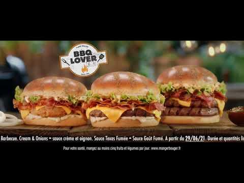 Musique de la pub   Burger King BBQ Lover 2021