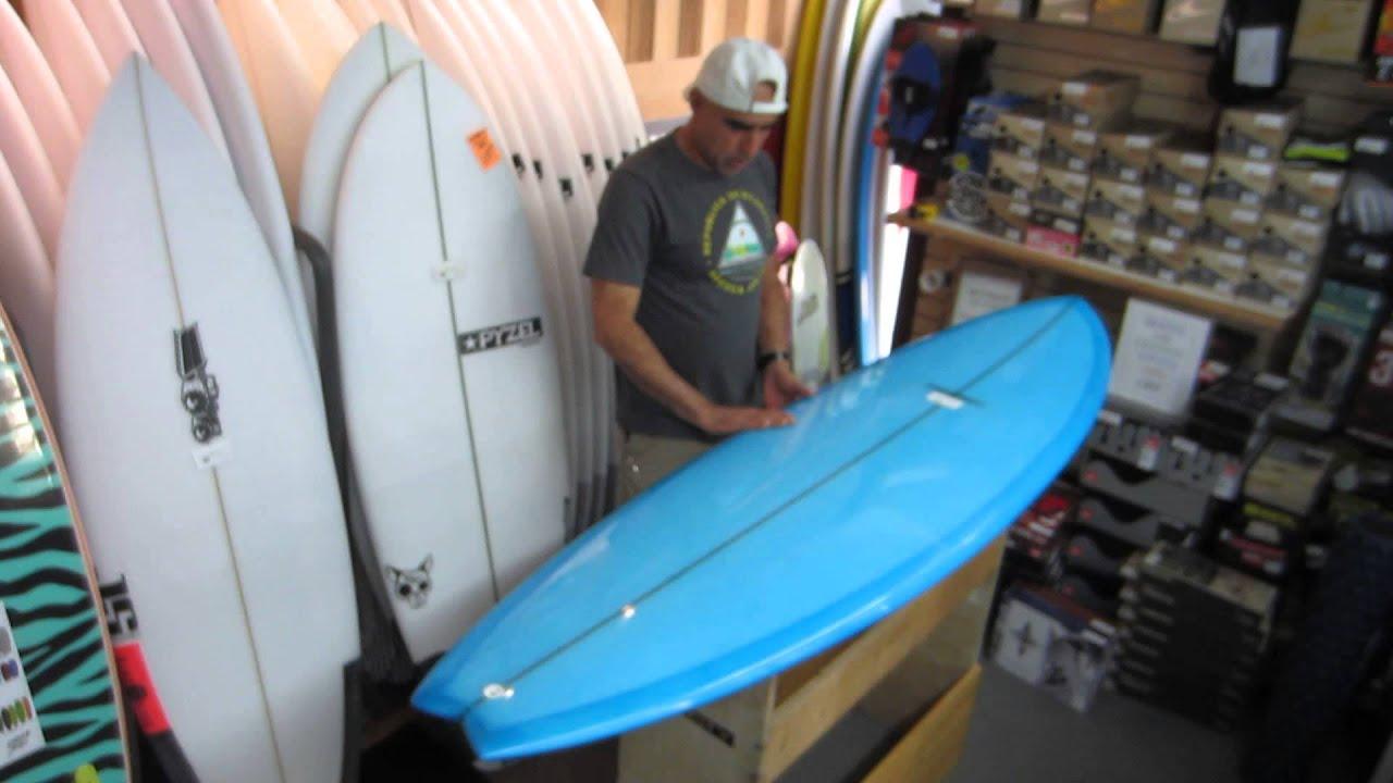 Surfboard design series modern black fish surfboard youtube for Surf fishing nj license