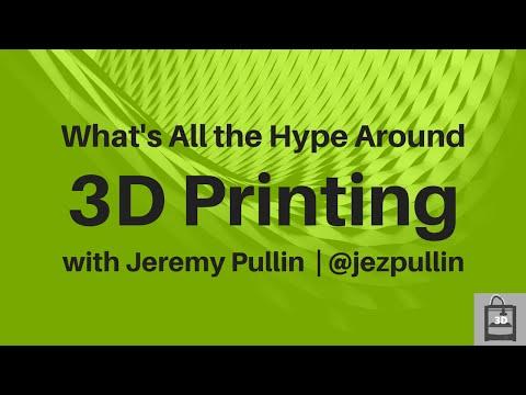 Hype Around 3D Printing