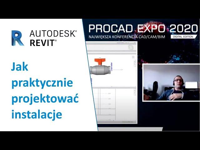 Jak praktycznie projektować instalacje w Autodesk Revit | PROCAD EXPO - Godzina z ekspertem