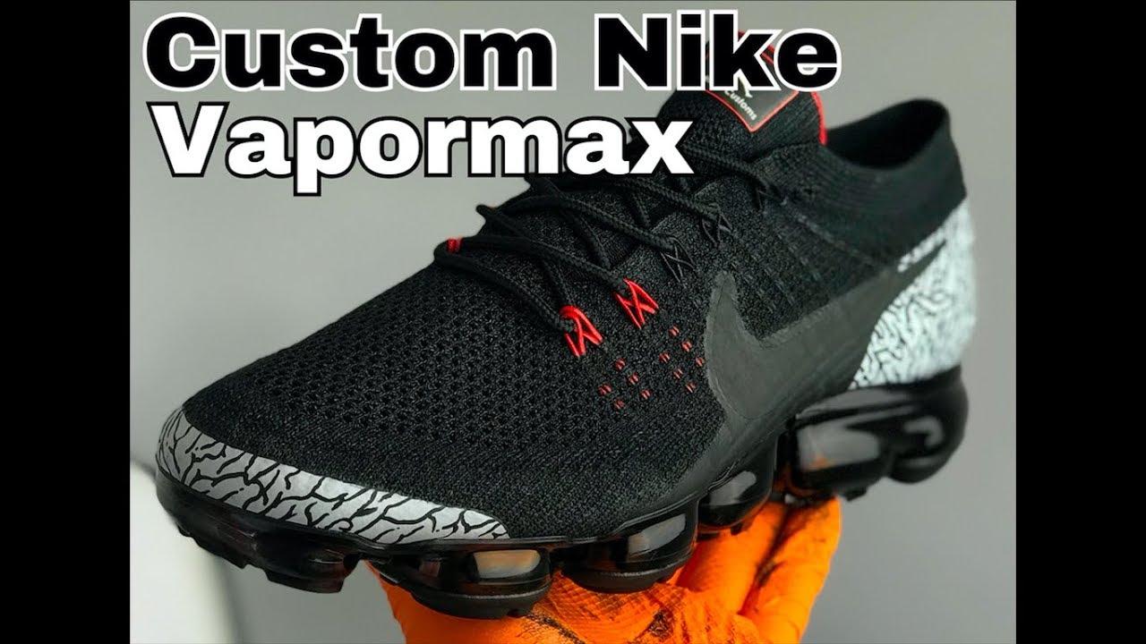 4abe42c4565 Custom Nike Vapormax