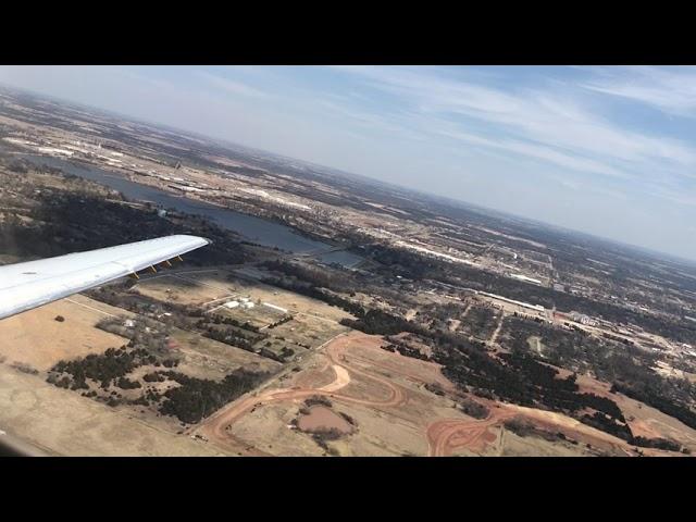 American Eagle ERJ-140 Takeoff from Stillwater Regional Airport (SWO)