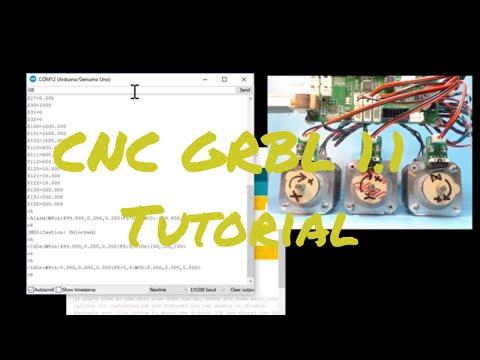 Arduino Grbl CNC Tutorial - 01