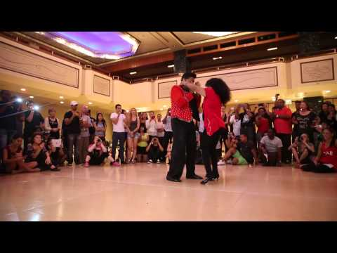 NY Salsa Congress 2013 - Eddie and Maria Torres Dancing after a workshop