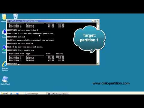 Diskpart Helps To Increase Partition Size.mp4