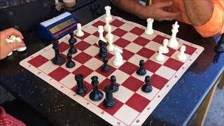 2 Great Trash Talkers, 1 Dirty Chess Hustler Trick! Carlini vs.