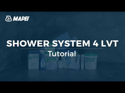 MAPEI: Shower System 4 LVT