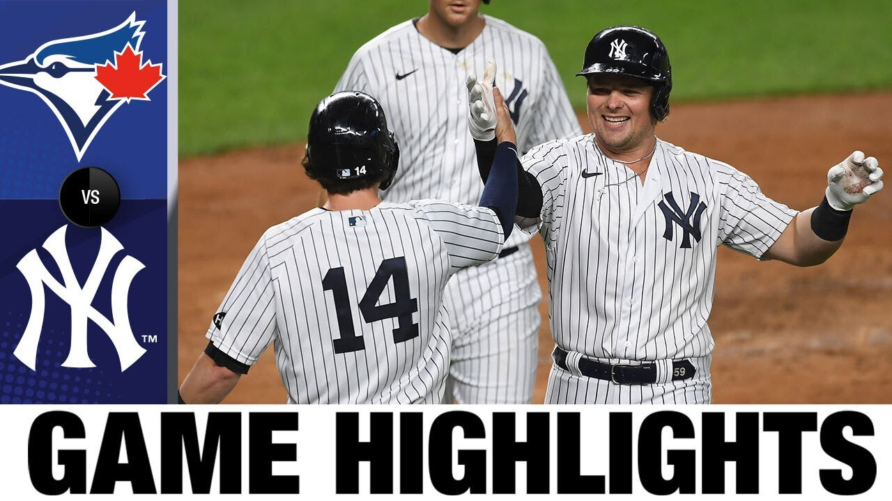Luke Voit hits two home runs in Yankees' 20-6 win | Blue Jays-Yankees Game Highlights 9/15/20