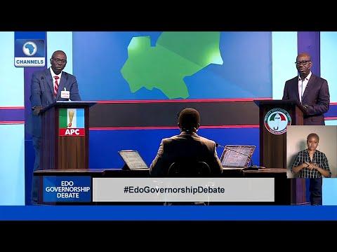 FULL VIDEO: Edo Governorship Debate 2020 (Obaseki VS Ize-Iyamu)