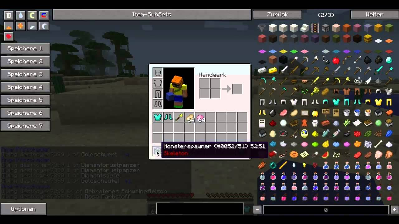 Not Enough Items Mod for Minecraft