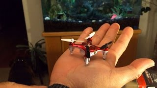 syma X12 Nano RC Quadcopter Unboxing & Review