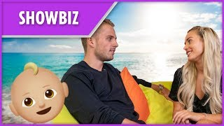 Love Island's Charlie and Ellie's baby news