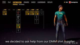 How to get PandaTV shirt in PUBG PLAYERUNKNOWN'S BATTLEGROUNDS