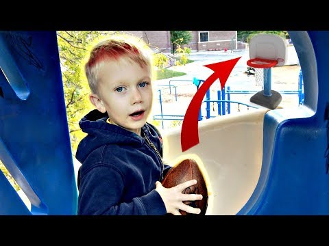 Little Brother Trick Shots! | Thats Amazing