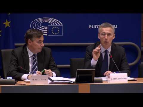 NATO Secretary General addresses the European Parliament