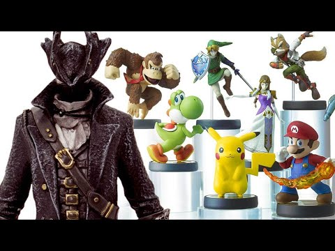 It's NOT a Bloodborne Amiibo, But It's Close - Up At Noon Live!