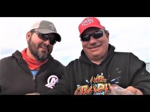 EPIC Greg Hackney & Mr Crappie Fishing Sam Rayburn Reservoir Hack Attack  Strike King