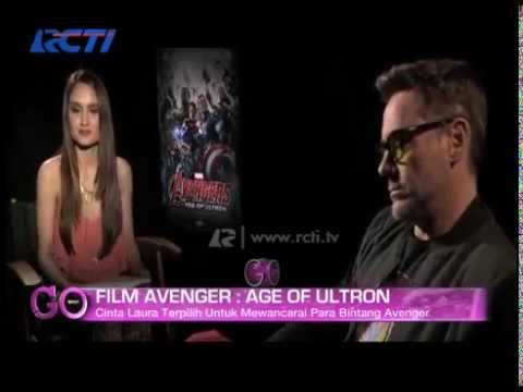 Cinta Laura Interview With The Avengers: Age of Ultron