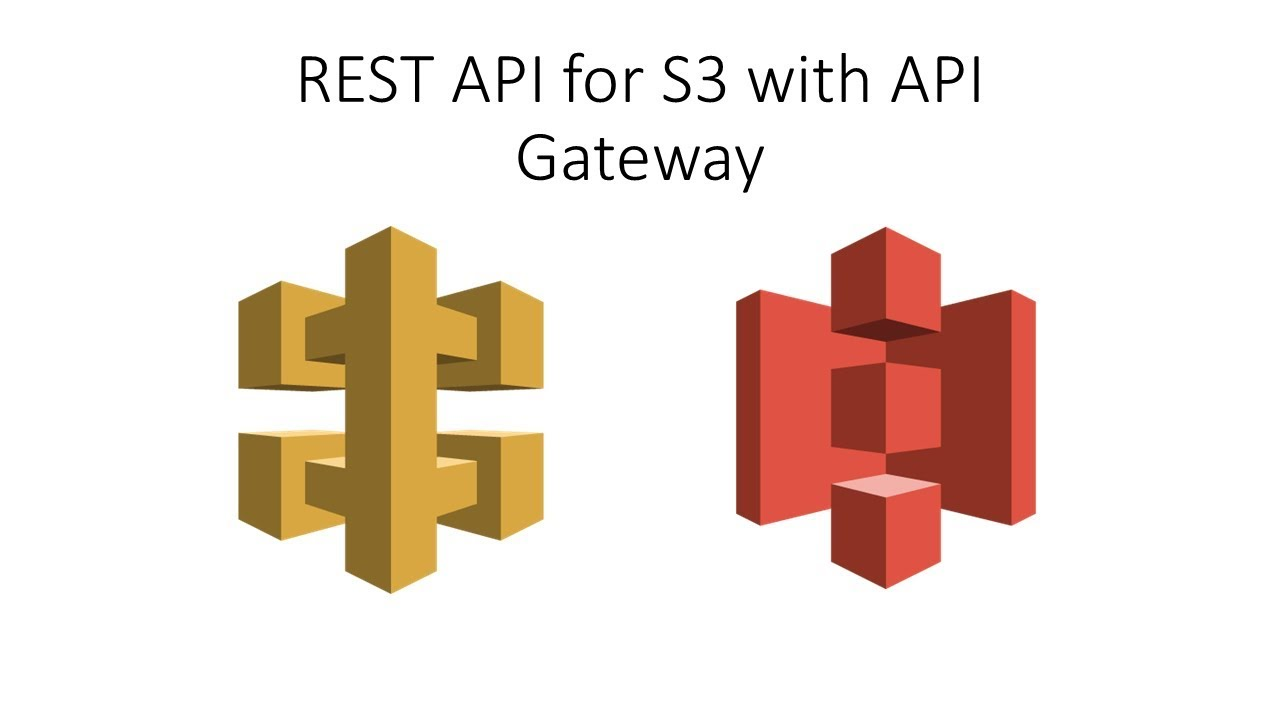 AWS Advanced - REST API for S3 with API Gateway