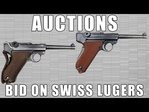 Up For Auction: Bid On A Swiss Luger