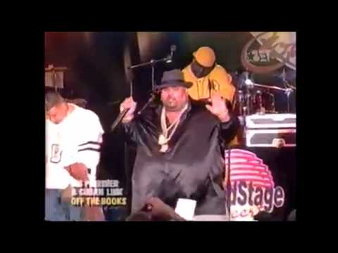 Big Pun - Off The Books Ft. Cuban Link (Live)