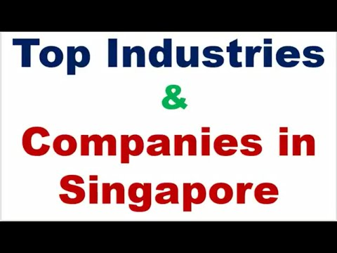 Top Fast Growing Industries and Companies in Singapore