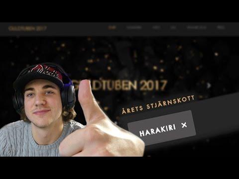 VINNARNA AV GULDTUBEN 2017 ÄR...