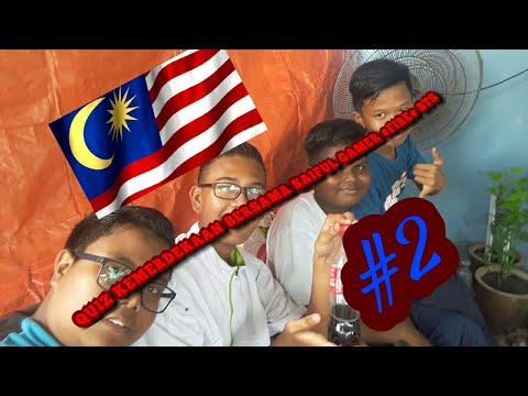 QUIZ KEMERDEKAAN BERSAMA SAIFUL GAMER INTRO BARU EDITOR BARU (MALAYSIA)