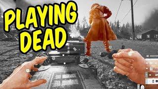 PLAYING DEAD. - Funny Moments in Battlefield V Firestorm Battle Royale
