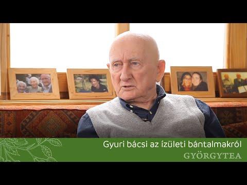 Gyuri bácsi az ízületi bántalmakról beszél