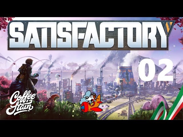 Let's Play Satisfactory [Early Access - ITA] 02