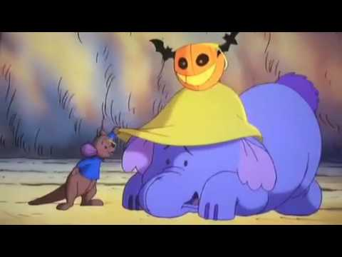 Poohs heffalump's Halloween movie we are daring to be scaring original and reprise