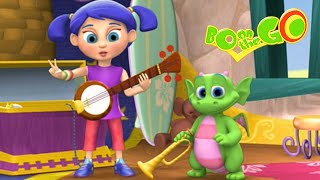 Cartoons For Kids | Bo On The GO! 206 - Bo and the Melody Maestro | Full Episode
