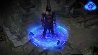 Path of Exile: Arcane Character Effect