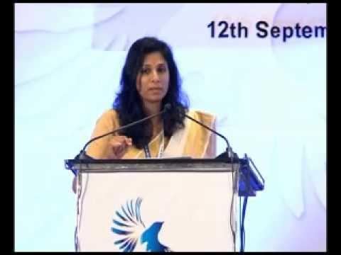 Emerging Kerala, Plenary session -  Gita Gopinath