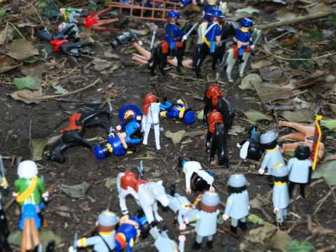 Playmobil nord contre sud youtube - Playmobil soldat ...