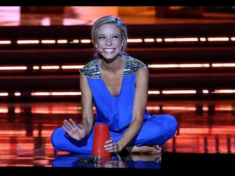Miss America Plays with Red Party Cup During Talent Contest - AND WINS!
